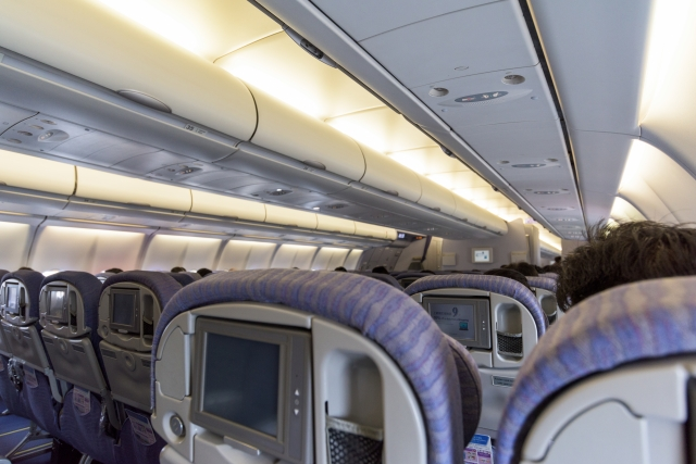 機内で快適に過ごすための座席選び
