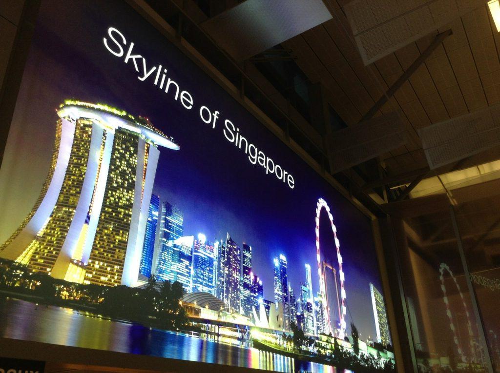 シンガポール 空港